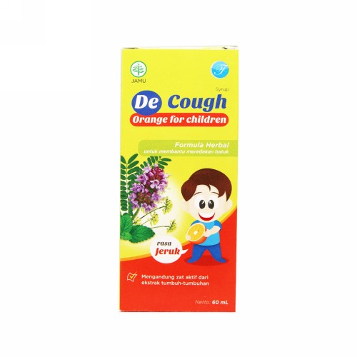 DE COUGH RASA JERUK SIRUP ANAK 60 ML