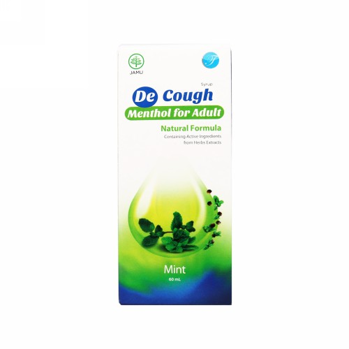 DE COUGH RASA MINT SIRUP 60 ML