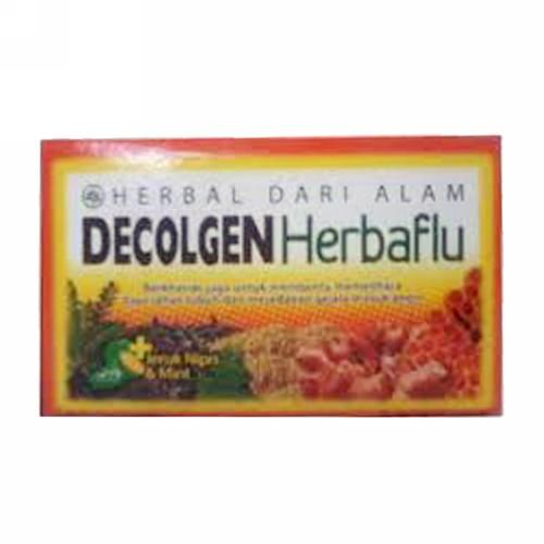 DECOLGEN HERBAL FLU 15 ML BOX 12 SACHET