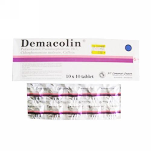 DEMACOLIN STRIP 10 TABLET