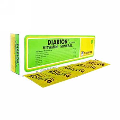 DIABION STRIP 10 KAPSUL