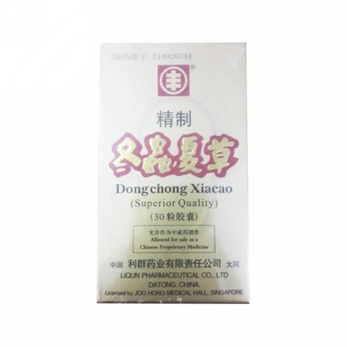 DONG CHONG XIA CAO BOTOL 60 KAPLET