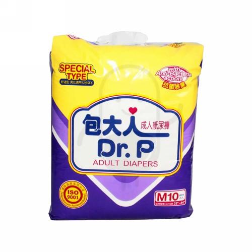 DR P POPOK DEWASA TIPE SPECIAL UKURAN M BOX 10 PCS