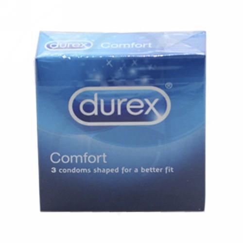 DUREX COMFORT KONDOM BOX 3 PCS