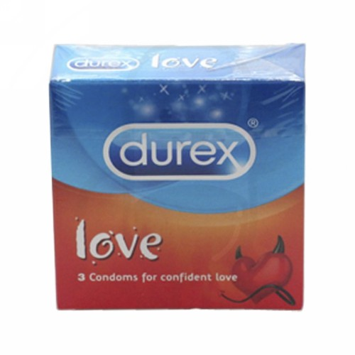 DUREX LOVE KONDOM BOX 3 PCS
