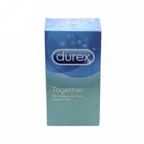 DUREX TOGETHER KONDOM BOX 12 PCS