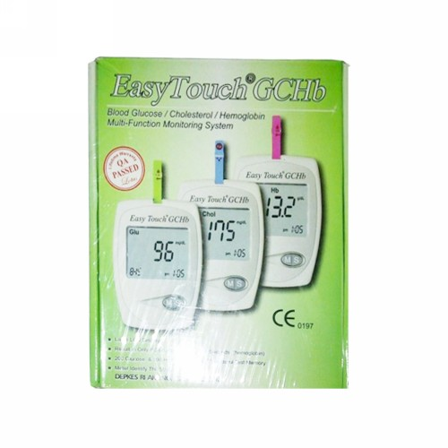 EASY TOUCH GLUCOSE CHOLESTEROL HAEMOGLOBIN METERED