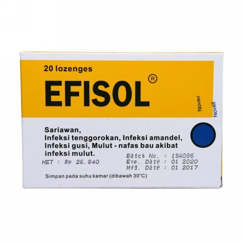 EFISOL TABLET STRIP