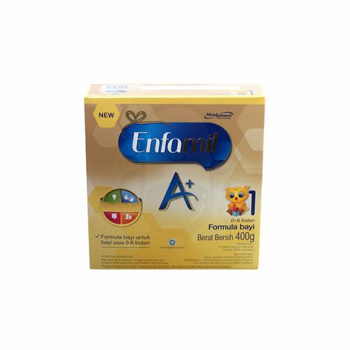 ENFAMIL A+ 1 USIA 0-6 BULAN 400 GRAM BOX