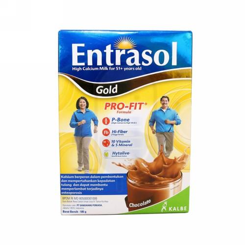 ENTRASOL GOLD RASA COKLAT BOX 185 GRAM