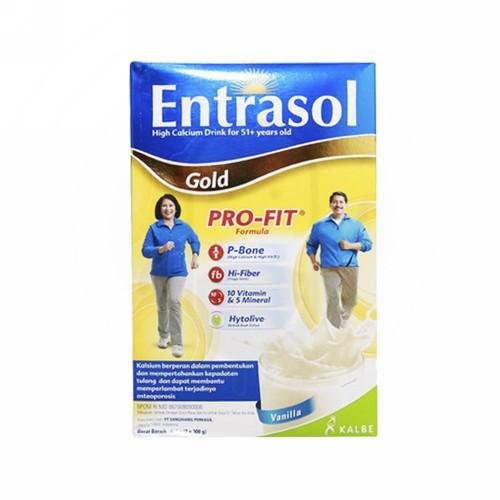 ENTRASOL GOLD RASA VANILA BOX 2 X 300 GRAM