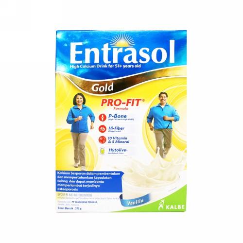 ENTRASOL GOLD RASA VANILA BOX 370 GRAM