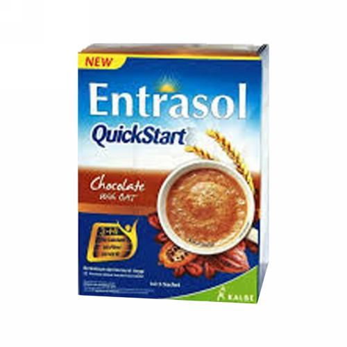 ENTRASOL QUICKSTART RASA COKLAT BOX 5 SACHET