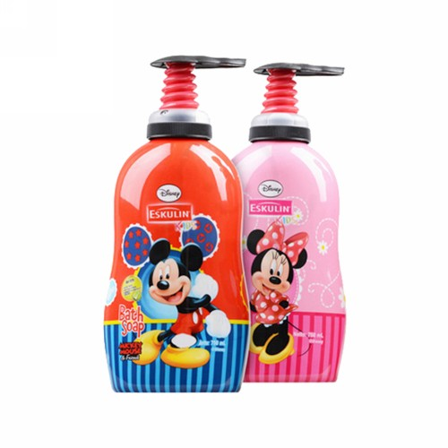 ESKULIN KIDS BATH SOAP MICKEY MOUSE BOTOL 750 ML