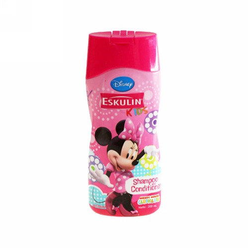 ESKULIN KIDS SHAMPOO AND CONDITIONER MICKEY MOUSE BOTOL 200 ML