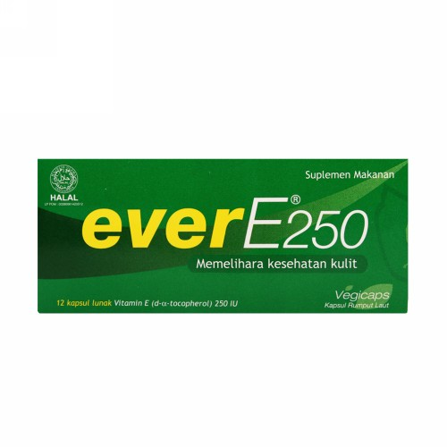 EVER E 250 MG 12 SOFTGEL BOX