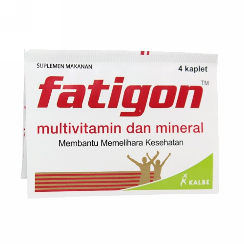 FATIGON STRIP 4 TABLET