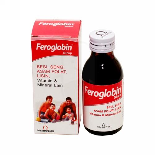 FEROGLOBIN SIRUP 100 ML