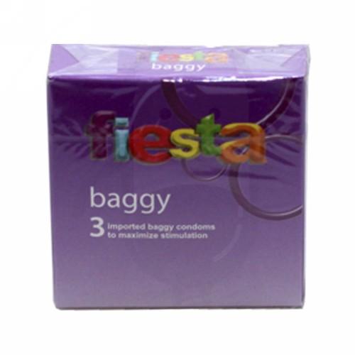 FIESTA KONDOM BAGGY BOX 3 PCS