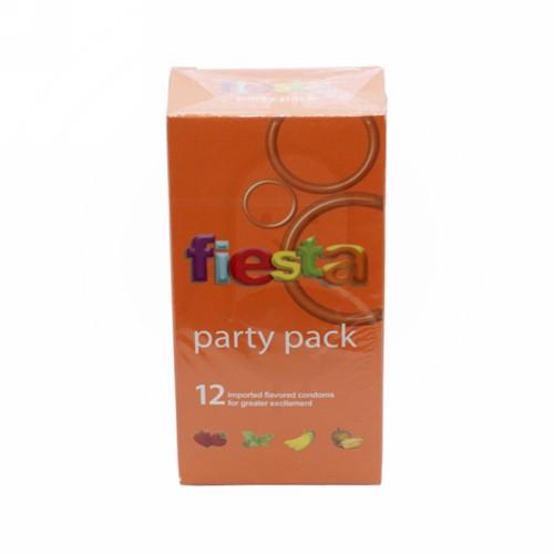 FIESTA KONDOM PARTY PACK BOX 12 PCS