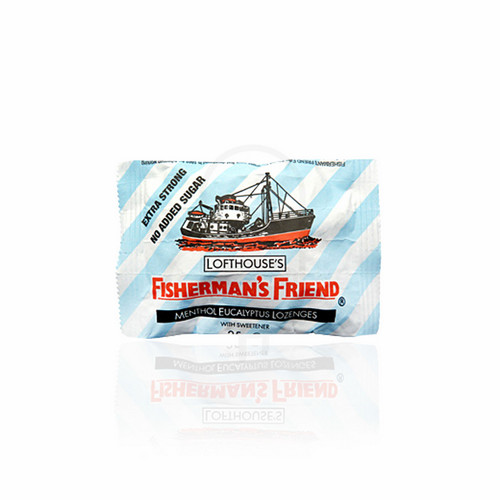 FISHERMAN'S FRIEND SUGAR FREE EXTRA STRONG