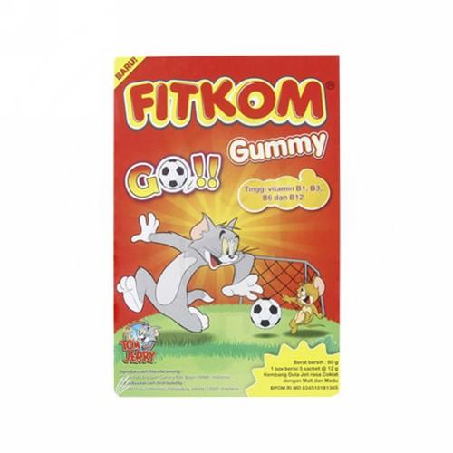 FITKOM GUMMY GO!! 5 PCS