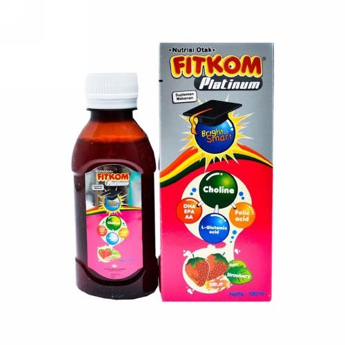 FITKOM PLATINUM RASA STRAWBERRY 100 ML