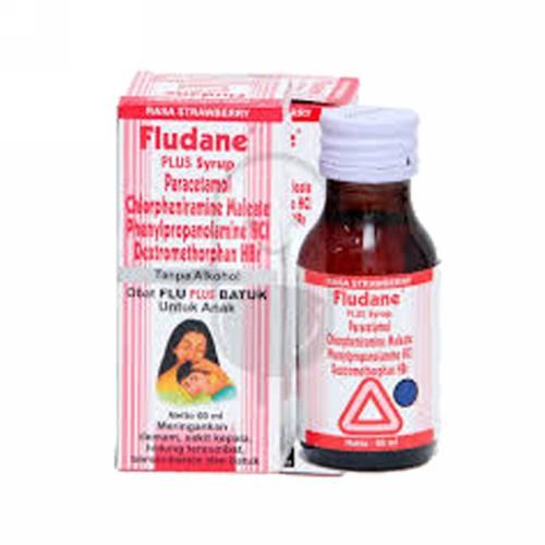 FLUDANE PLUS ANAK RASA STRAWBERRY SIRUP 60 ML