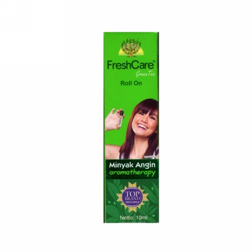FRESH CARE GREEN TEA MINYAK ANGIN AROMATHERAPY BOTOL ROLL ON 10 ML