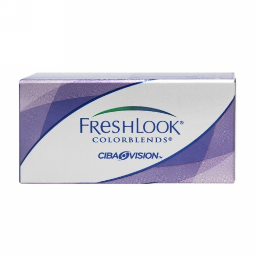 FRESHLOOK HEMA COLOR MONTHLY LENS COLORBLENDS (-0.00) BRILIANT BLUE