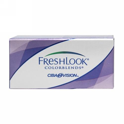 FRESHLOOK HEMA COLOR MONTHLY LENS COLORBLENDS (-1.00) BRILIANT BLUE
