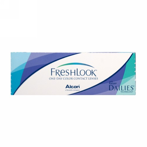FRESHLOOK HEMA COLOR ONE DAY LENS COLORBLENDS (-0.75) GREEN