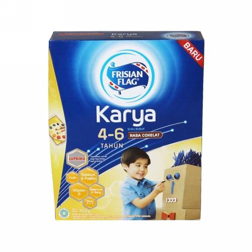 FRISIAN FLAG KARYA USIA 4-6 TAHUN RASA COKLAT 400 GRAM BOX