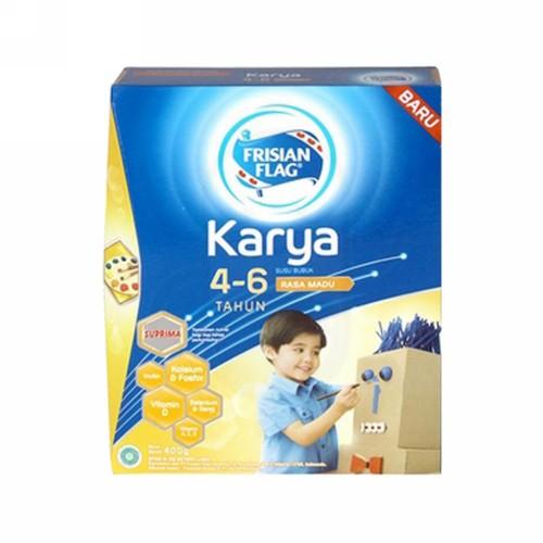 FRISIAN FLAG KARYA USIA 4-6 TAHUN RASA MADU 400 GRAM BOX