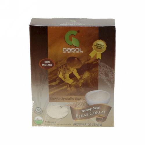 GASOL TEPUNG BERAS COKLAT 200 GRAM BOX