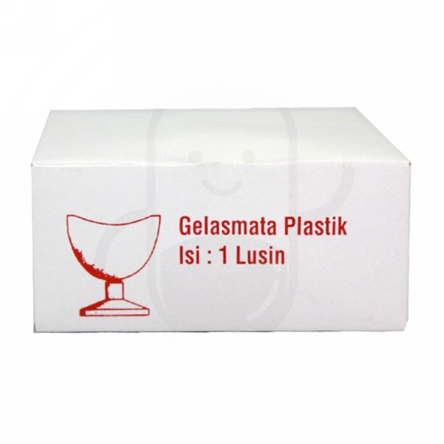 GELAS MATA PLASTIK ( ECER )