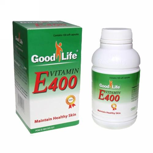 GOOD LIFE VITAMIN E 400 IU KAPSUL BOX