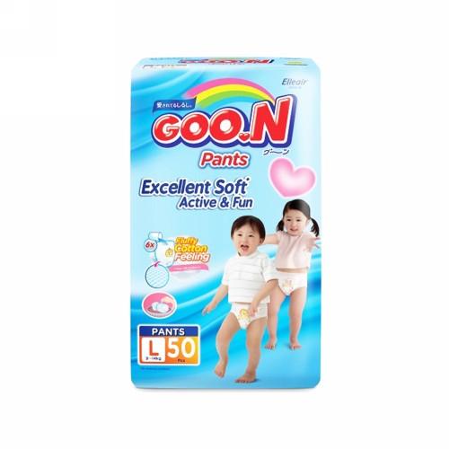 GOON EXCELLENT SOFT ACTIVE AND FUN POPOK CELANA UKURAN L 50