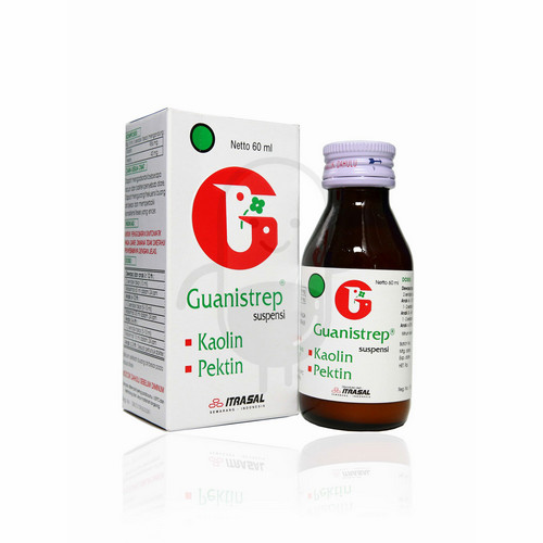 GUANISTREP SIRUP 60 ML