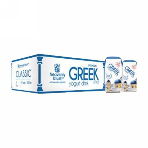 HEAVENLY BLUSH GREEK GLASSIC 200ML BOX ISI 24 PCS