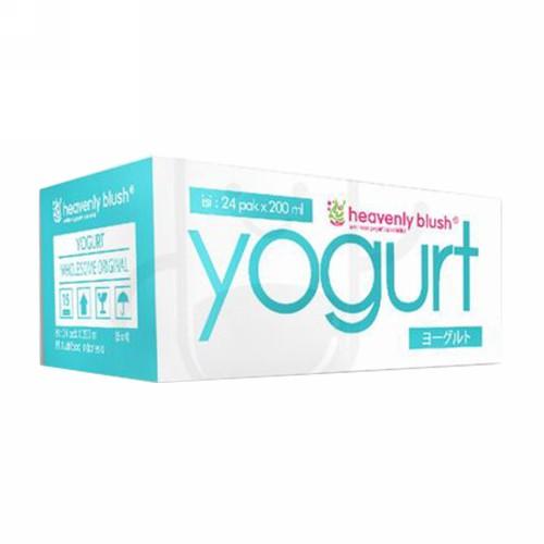 HEAVENLY BLUSH YOGURUTO WHOLESOME ORIGINAL 200ML BOX ISI 24 PCS