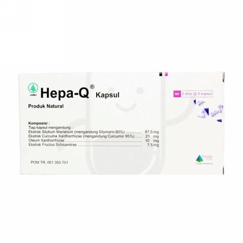 HEPA-Q BOX 30 KAPSUL
