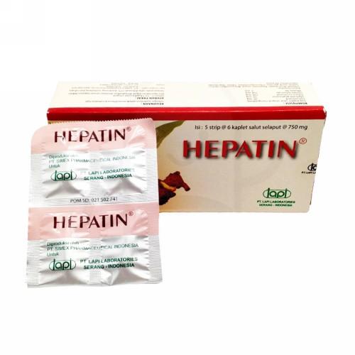 HEPATIN BOX 30 KAPLET