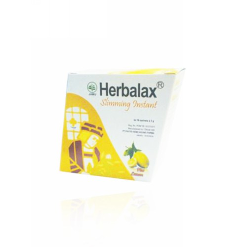 HERBALAX SLIMMING INSTAN PLUS LEMON BOX 16 SACHET