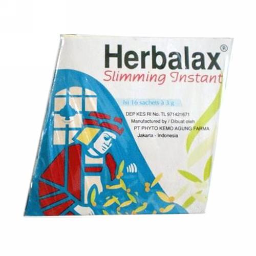 HERBALAX SLIMMING INSTAN BOX 16 SACHET