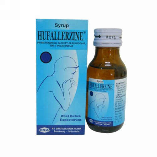 HUFALLERZINE SIRUP 60 ML