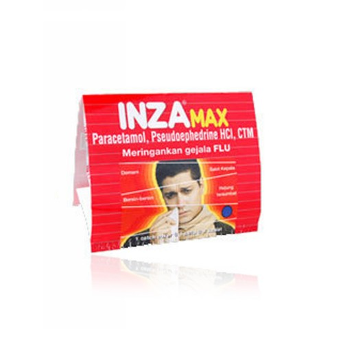 INZA MAX FLU TABLET STRIP
