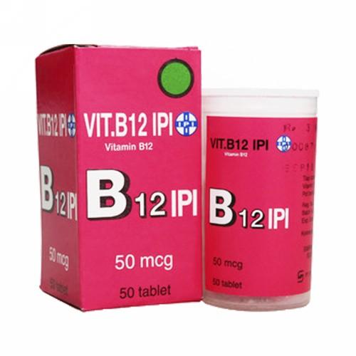 IPI VITAMIN B12 BOX 50 TABLET