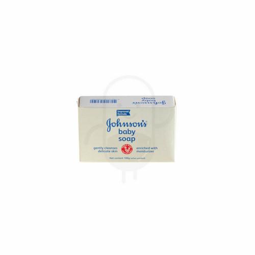 JOHNSON'S BABY SOAP REGULAR 100 GRAM BOX