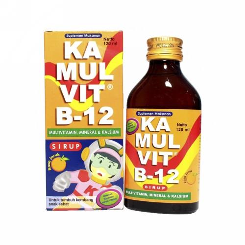 KAMULVIT B12 SIRUP 120 ML